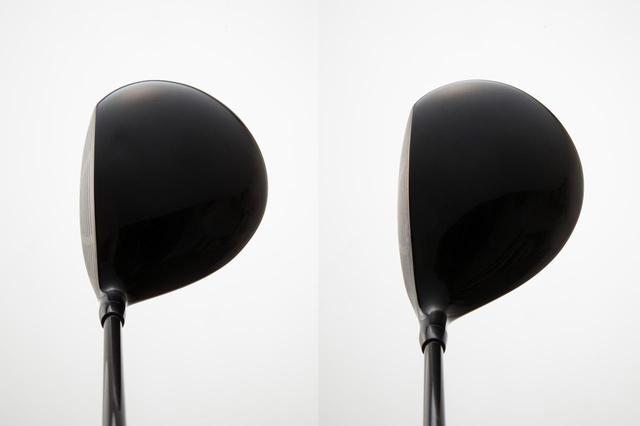 画像: 画像1:左が丸顔、右が洋ナシ顔。ちなみにこれは同メーカーの兄弟ドライバーだが、これだけ顔が違う(撮影/野村知也)