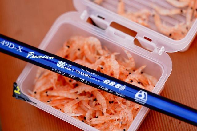画像: 「ブランクス(竿)メーカー」を謳うオリムピックが製造元で、釣り竿で培った技術をシャフト造りに集約。もちろんメイド・イン・ジャパンだ