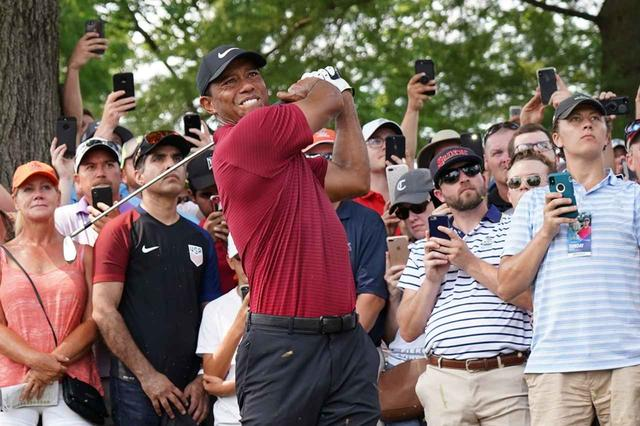 画像: 圧倒的なカリスマ性を持つタイガー・ウッズ。その復活で、来年のゴルフ界はさらに盛り上がるのは必至だ(写真は2018年の全米プロゴルフ選手権 撮影/姉崎正)