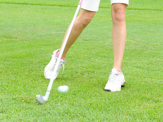 画像: ゴルフ女子=カーボンシャフトと思い込んでいたが……
