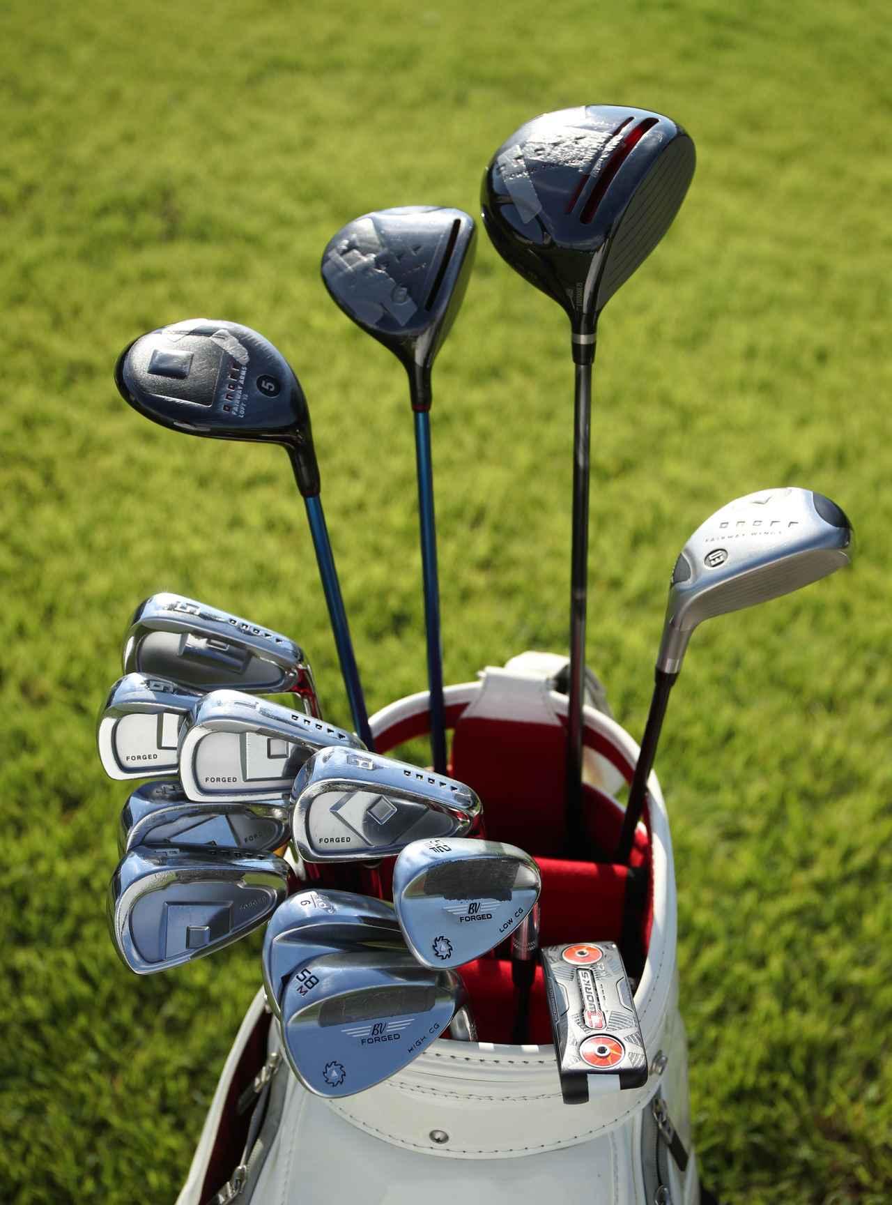 Images : 1番目の画像 - ファン・アルムの14本 - みんなのゴルフダイジェスト