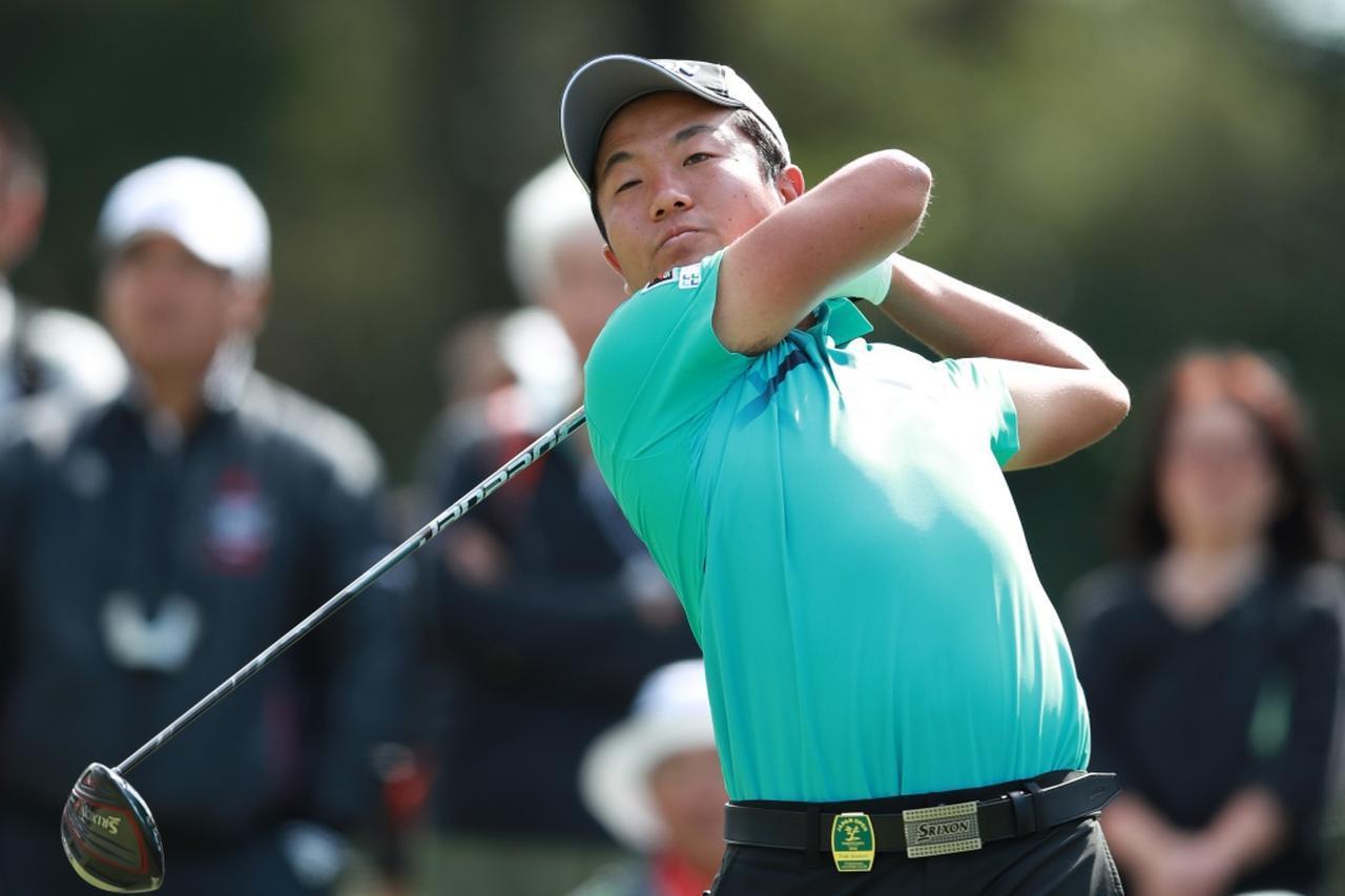 """画像: 日本オープンの練習日に同じZ585の""""別ヘッド""""にチェンジ。微妙な個体差によってつかまりが補正されたことが、最終日のフェアウェイキープ率100%につながった(写真は2018年の日本オープンゴルフ選手権)"""