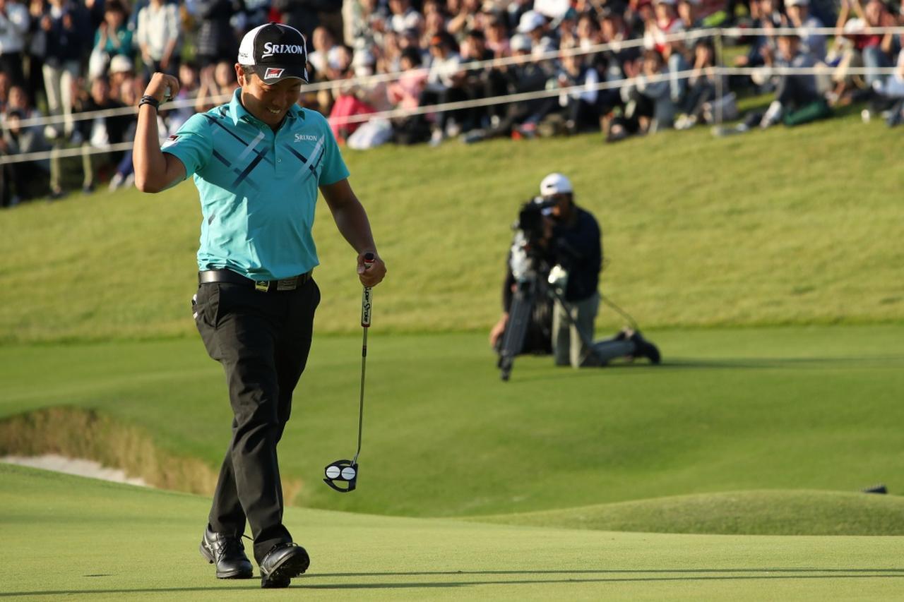 画像: ツアー初優勝とは思えない見事な勝利。賞金ランクは2位にまで上がった(写真は2018年の日本オープンゴルフ選手権)