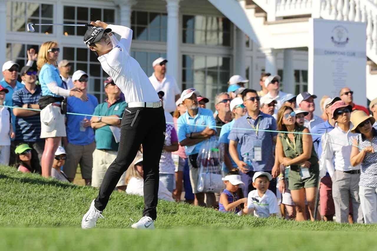 画像: パク・ソンヒョンら、世界で戦う韓国人選手のスウィングに変化が起きている(写真は2017年の全米女子オープン 撮影/南しずか)