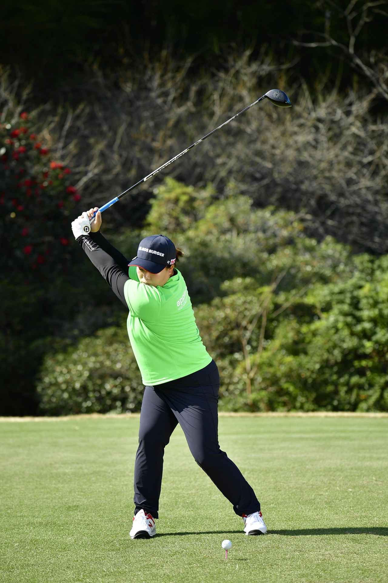 Images : 7番目の画像 - アン・ソンジュのドライバー連続写真 - みんなのゴルフダイジェスト