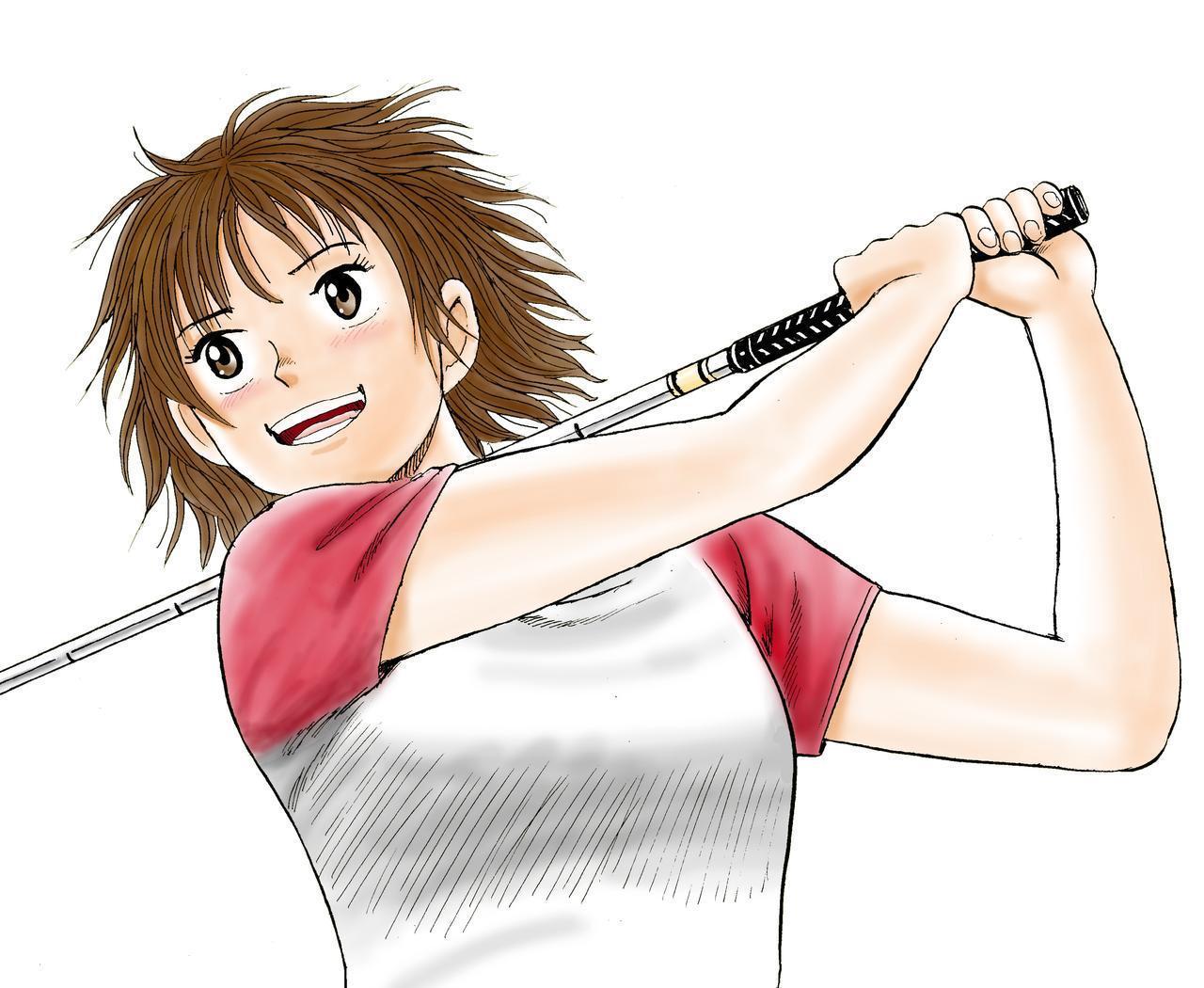 画像1: 【オーイ!とんぼ 第1巻試し読みキャンペーン】謎の少女・とんぼのゴルフがついに……! 第三話「岬に隠された宝石」