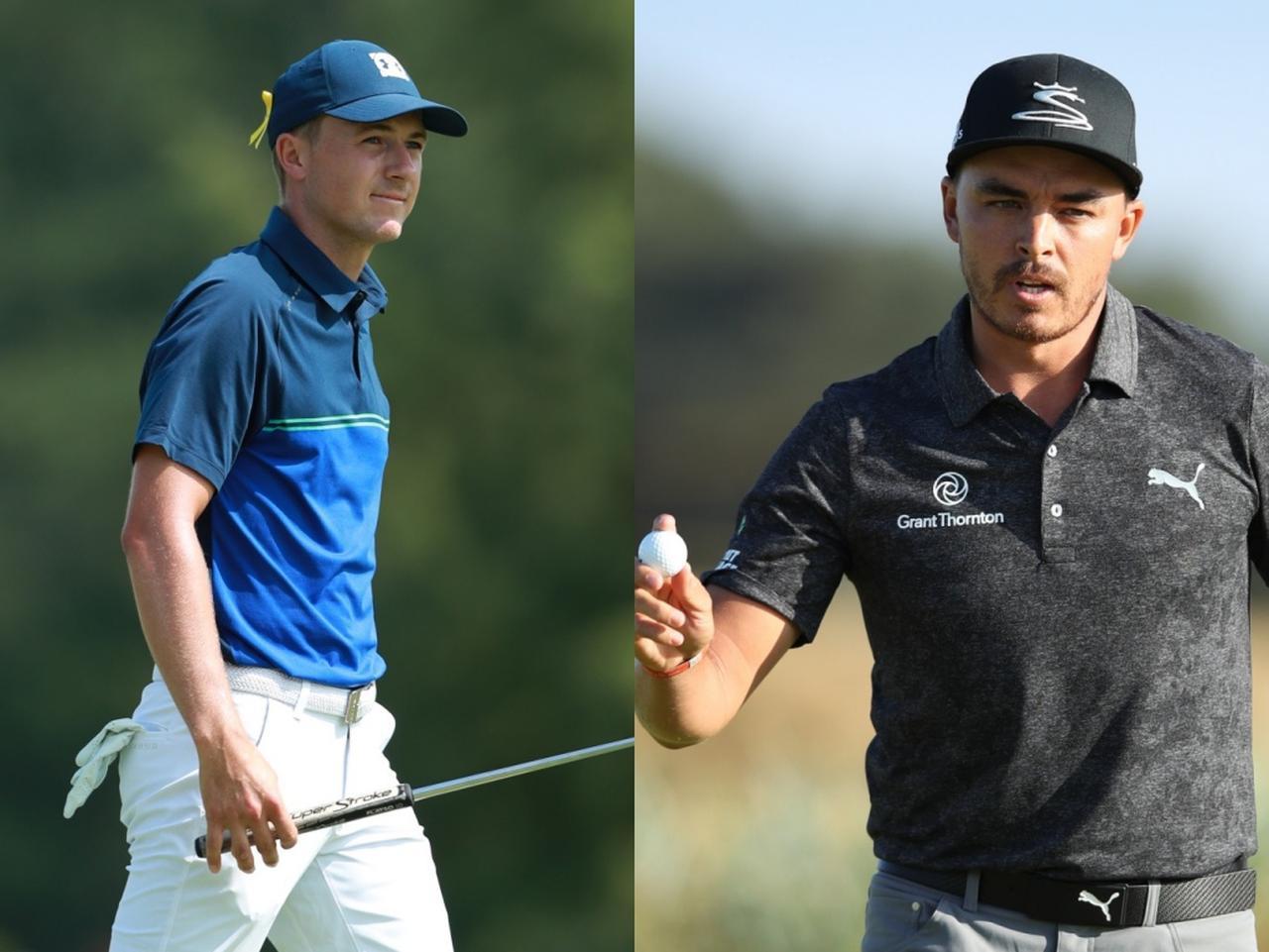 画像: 3位にランクインしたのは同着でジョーダン・スピース(左)とリッキー・ファウラー(右)