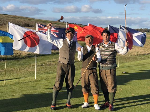 画像: 「ワールドヒッコリーオープン選手権」の団体戦で優勝した日本チーム。左から高澤邦彦さん、若松吉己さん、福本勝幸さん