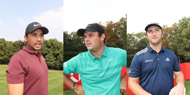 画像: 今後のタイガーのメジャーでの勝利に関して、デイ(左)は「難しい」リード(中)は「1勝」ラーム(右)は「勝てる」と予想(撮影/大泉英子)