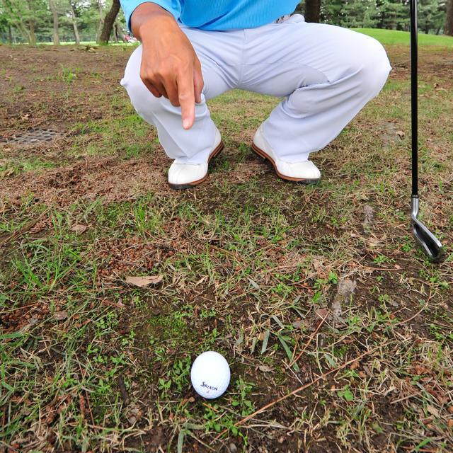 画像: それが大切なゴルフであればあるほど、悪魔は耳元でささやく。しかし、それに屈してしまったら……(写真はイメージ)