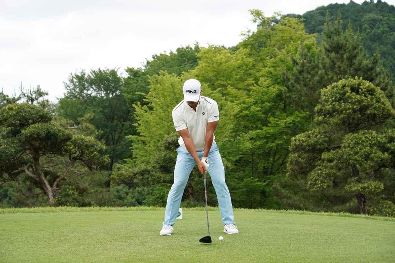 Images : 1番目の画像 - 額賀辰徳のドライバー連続写真 - みんなのゴルフダイジェスト