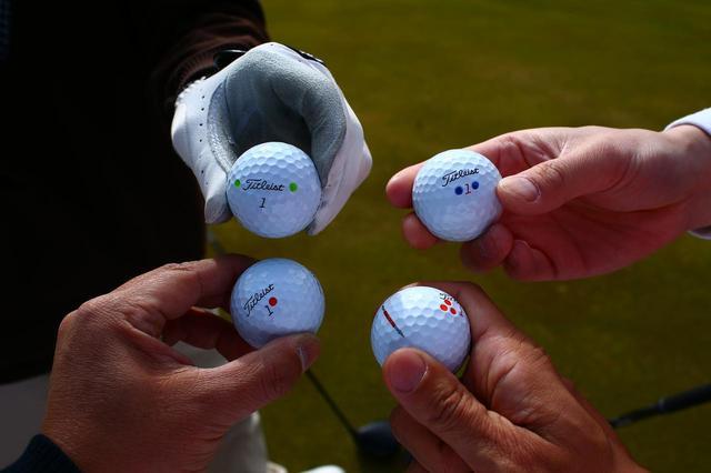 画像: 画像1/ティオフ時に同伴者のボールを確認しよう