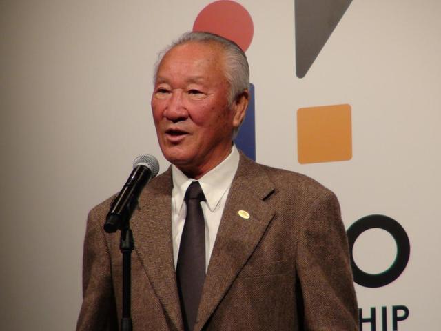 画像: JGTO会長の青木功氏