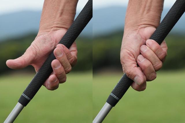 画像: 指はつまむ、手のひらは握るためにある。テンフィンガーは理に適った握り方ということだ