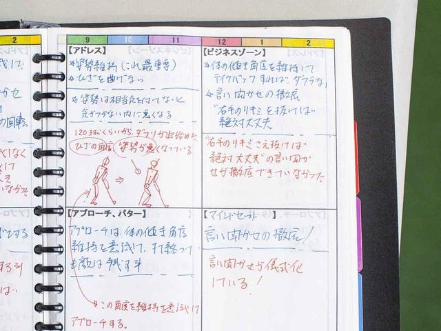 画像: (画像1)著者が使用したフィードバックシート。課題やテーマ、それに対する分析などが事細かに記されている