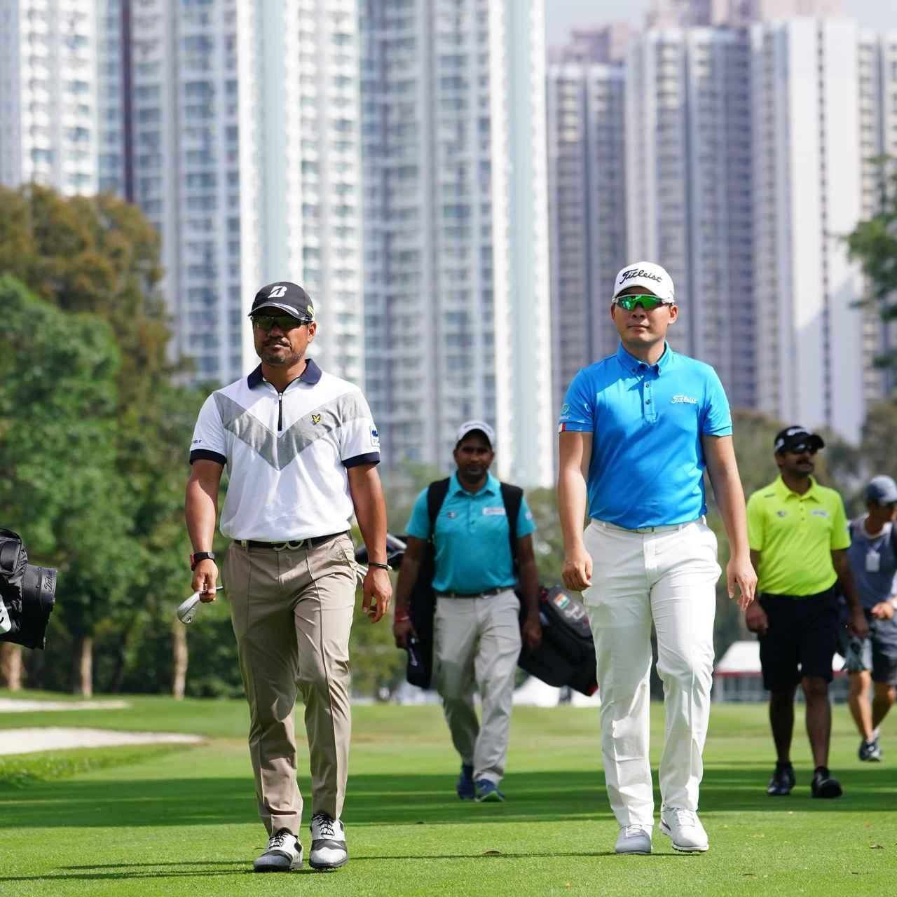 画像: 日本からは宮里優作、川村昌弘の二人の欧州ツアーメンバーらが出場。彼らもまた、日本のゴルフ界のグローバル化の象徴だ