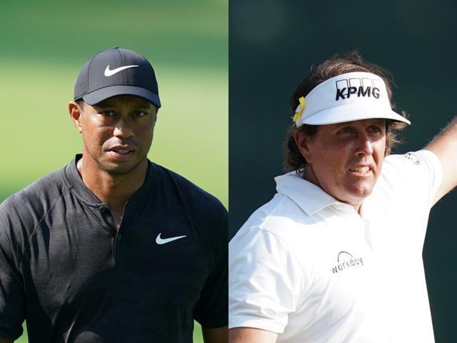 画像: いよいよ開催されるタイガー・ウッズ(左)vsフィル・ミケルソン(右)のザ・マッチ。どんな結末を迎えるのか…