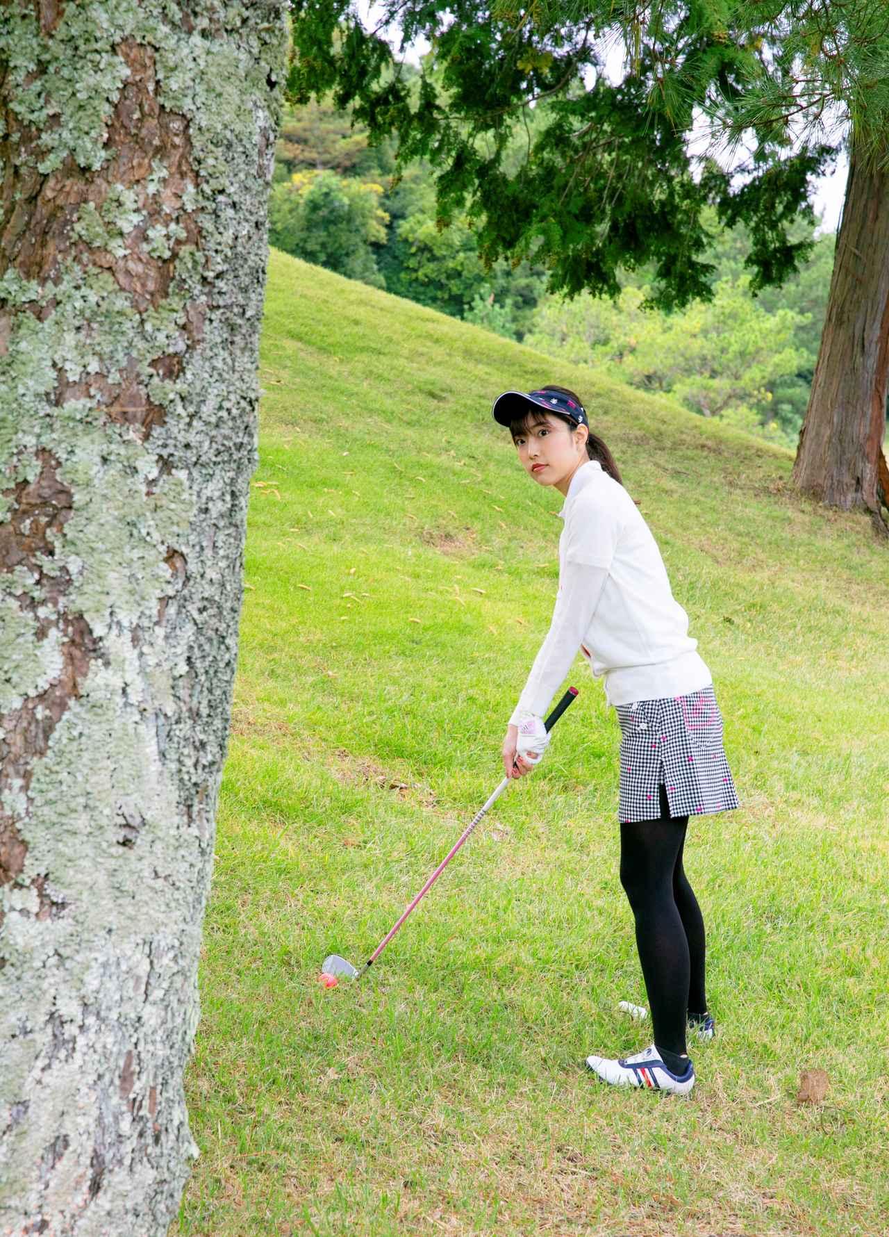 画像: 「よし、木の右を通すわよ」