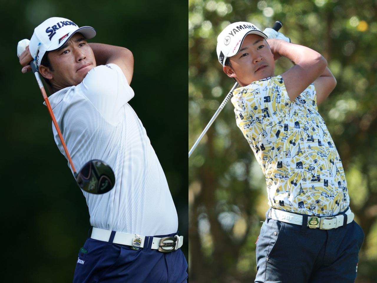 画像: 松山英樹(左)は6位、今平周吾(右)は8位と世界選抜入りの基準となる8位以内に現時点ではランクインしているしている