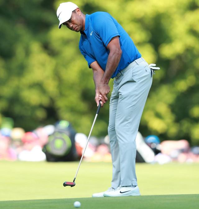 画像: 自身がホストを務めるヒーローワールドチャレンジでタイガーは出場18人17位に終わった(写真は2018年の全米プロゴルフ選手権)