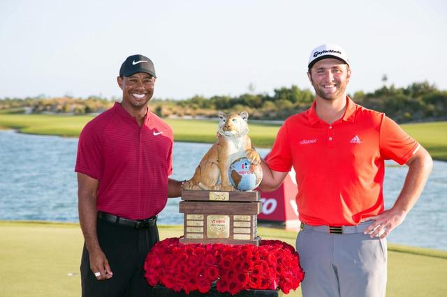 画像: 憧れのタイガーがホストを務める今大会で優勝を挙げた(写真提供/PGAツアー)