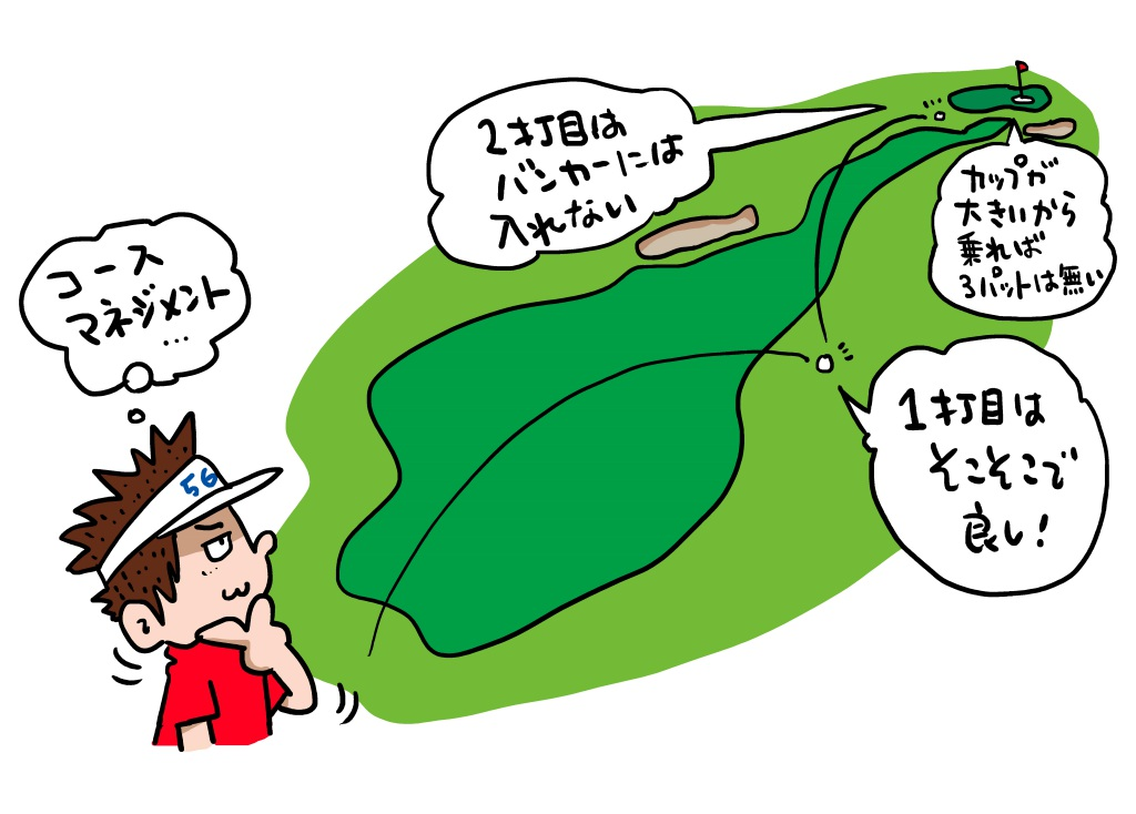 画像: 1打1打をよく考え、コースマネジメント力が自然と身につくようになる