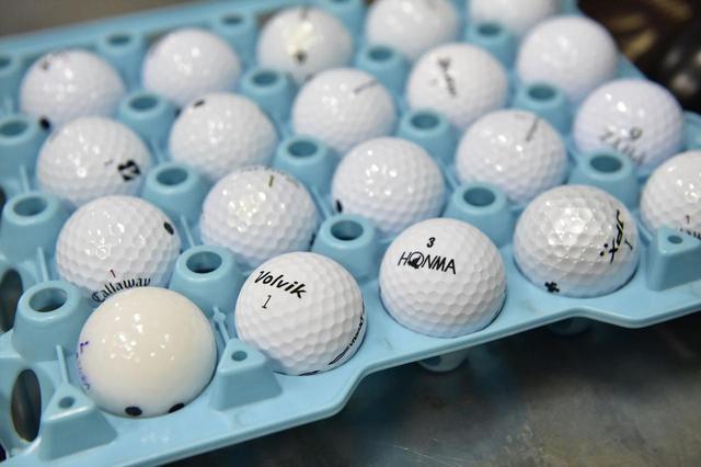 画像: 多くの種類があるボールの中から自分に合うものを探すのは実は意外と難しい