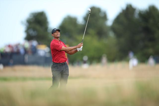 画像: 全英オープンで優勝にあと一歩に迫ったタイガー・ウッズ(写真は2018年の全米プロゴルフ選手権 撮影/姉崎正)