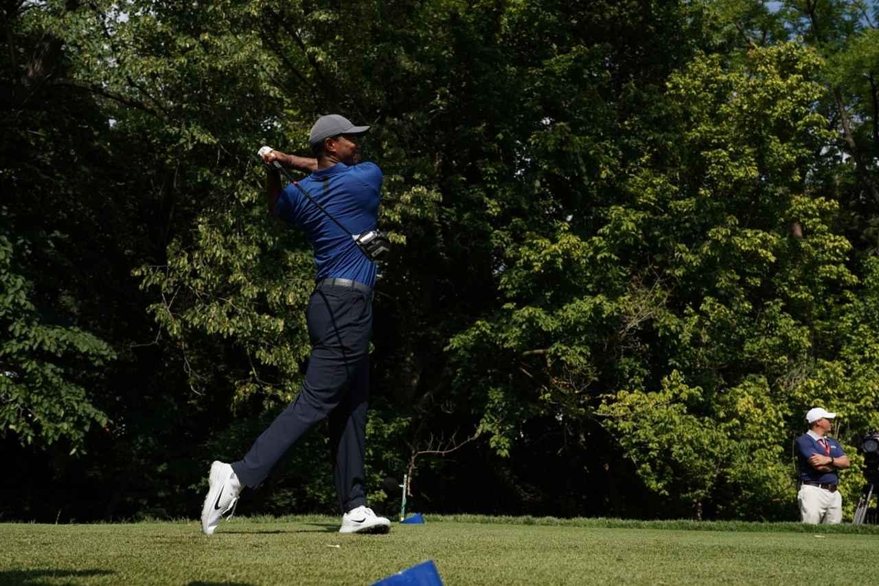 Images : 15番目の画像 - タイガー・ウッズのドライバー連続写真 - みんなのゴルフダイジェスト