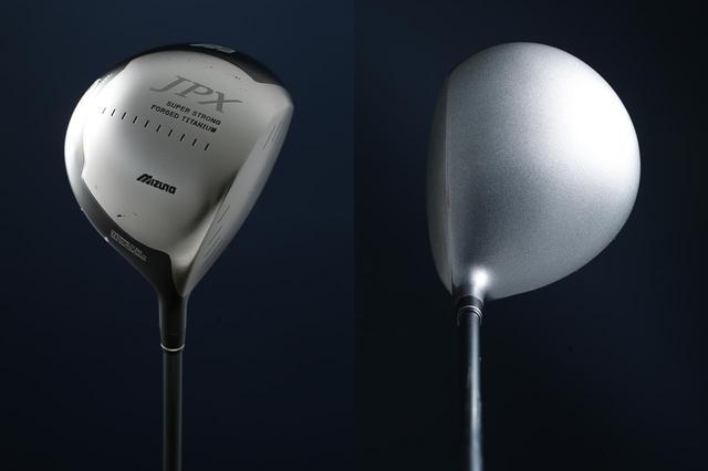 画像: 2005年に発売された「JPX E300」。生チタンを採用し、高反発による飛びを実現した名器。今となっては違反クラブだ