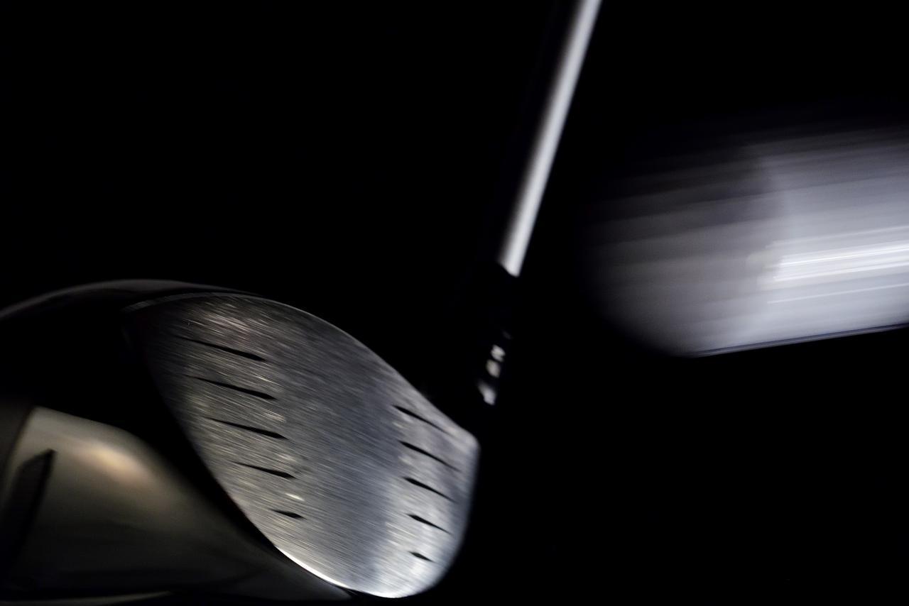 画像: ヘッドサイズは小さいながら、芯に当たりやすくミート率を向上できるクラブが小倉の理想形