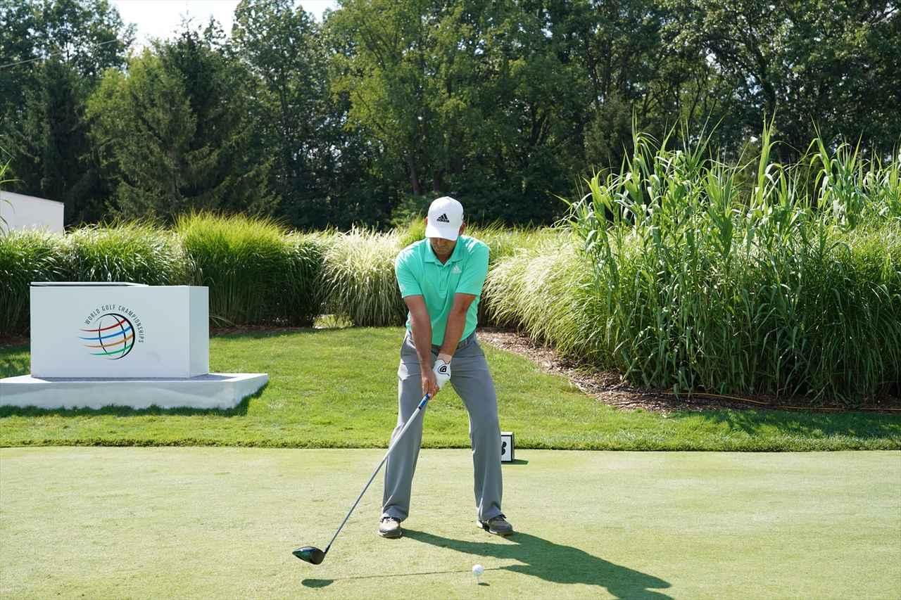 Images : 2番目の画像 - S・ガルシアドライバー連続写真 - みんなのゴルフダイジェスト