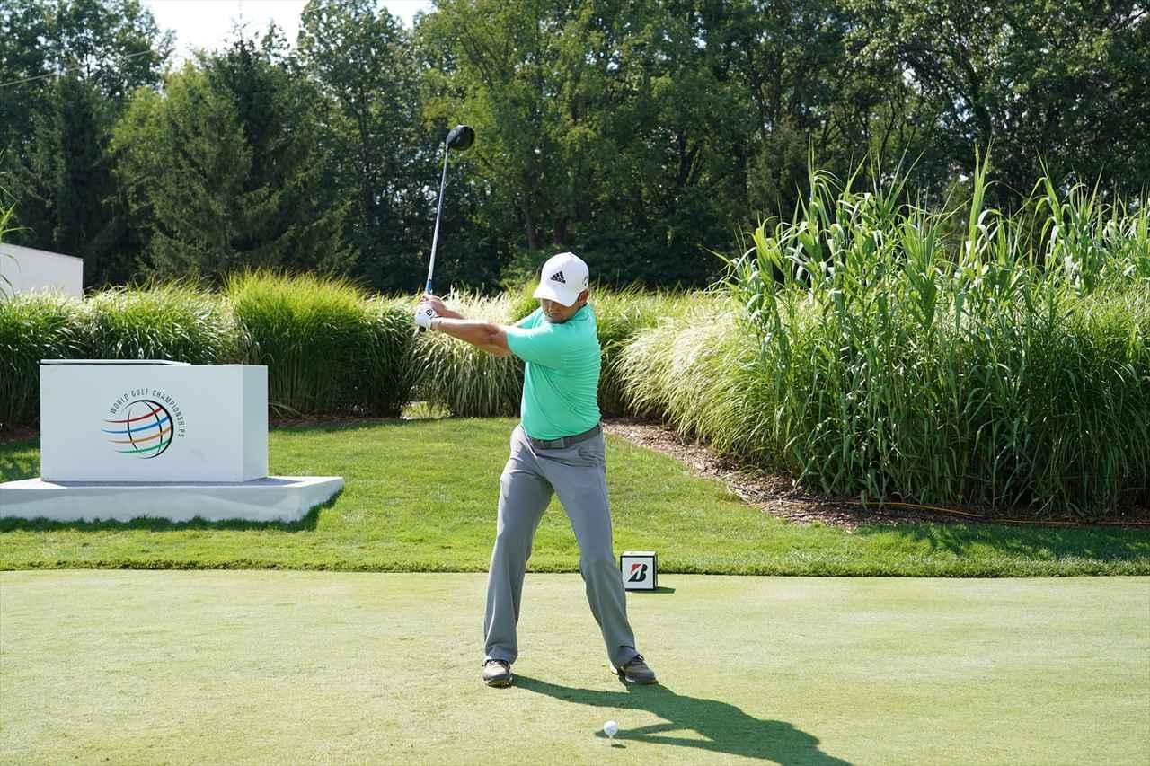 Images : 5番目の画像 - S・ガルシアドライバー連続写真 - みんなのゴルフダイジェスト