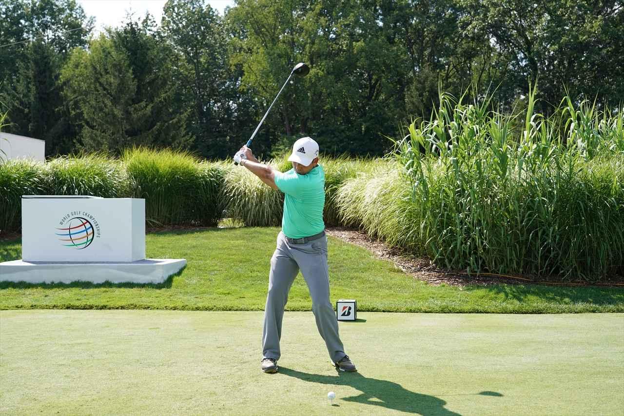 Images : 6番目の画像 - S・ガルシアドライバー連続写真 - みんなのゴルフダイジェスト