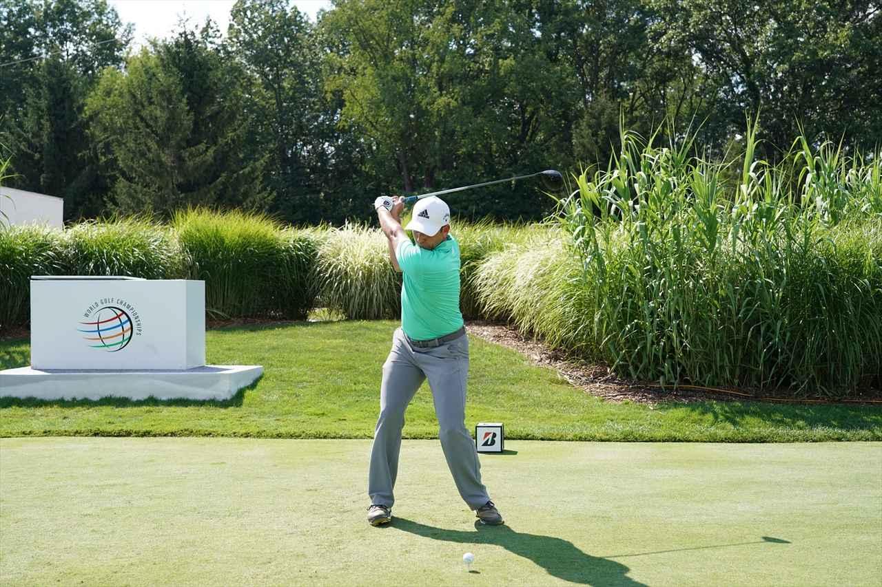 Images : 10番目の画像 - S・ガルシアドライバー連続写真 - みんなのゴルフダイジェスト