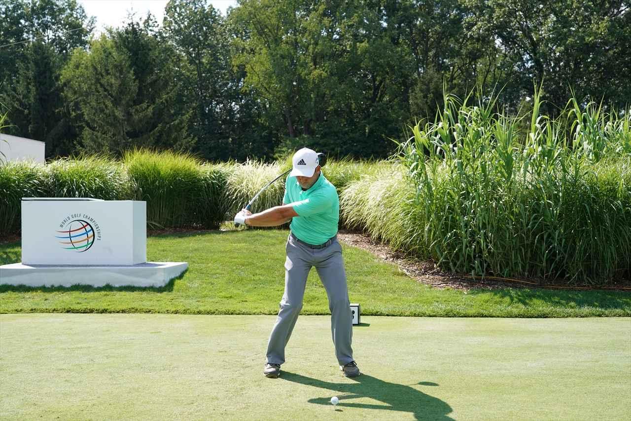 Images : 12番目の画像 - S・ガルシアドライバー連続写真 - みんなのゴルフダイジェスト