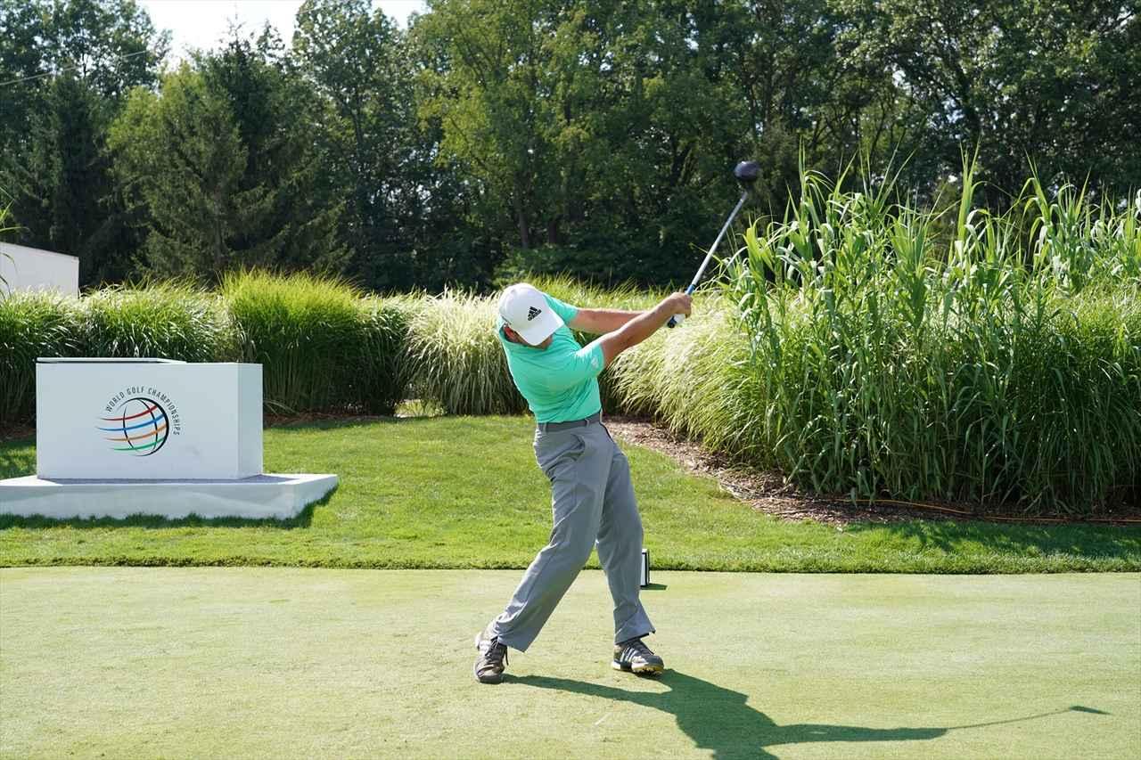 Images : 16番目の画像 - S・ガルシアドライバー連続写真 - みんなのゴルフダイジェスト