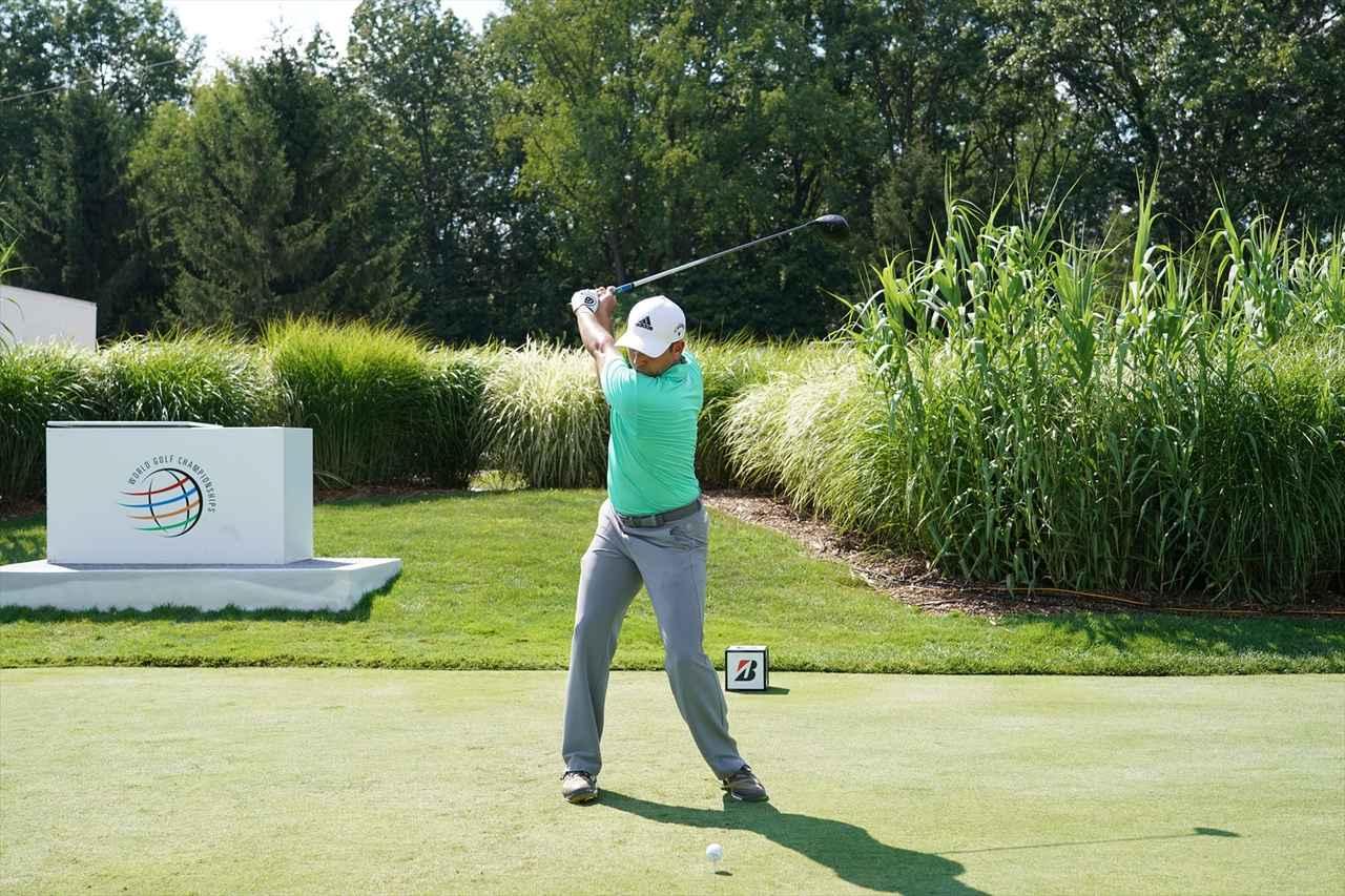Images : 9番目の画像 - S・ガルシアドライバー連続写真 - みんなのゴルフダイジェスト