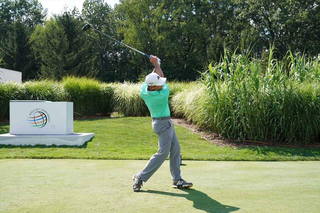 Images : 17番目の画像 - S・ガルシアドライバー連続写真 - みんなのゴルフダイジェスト