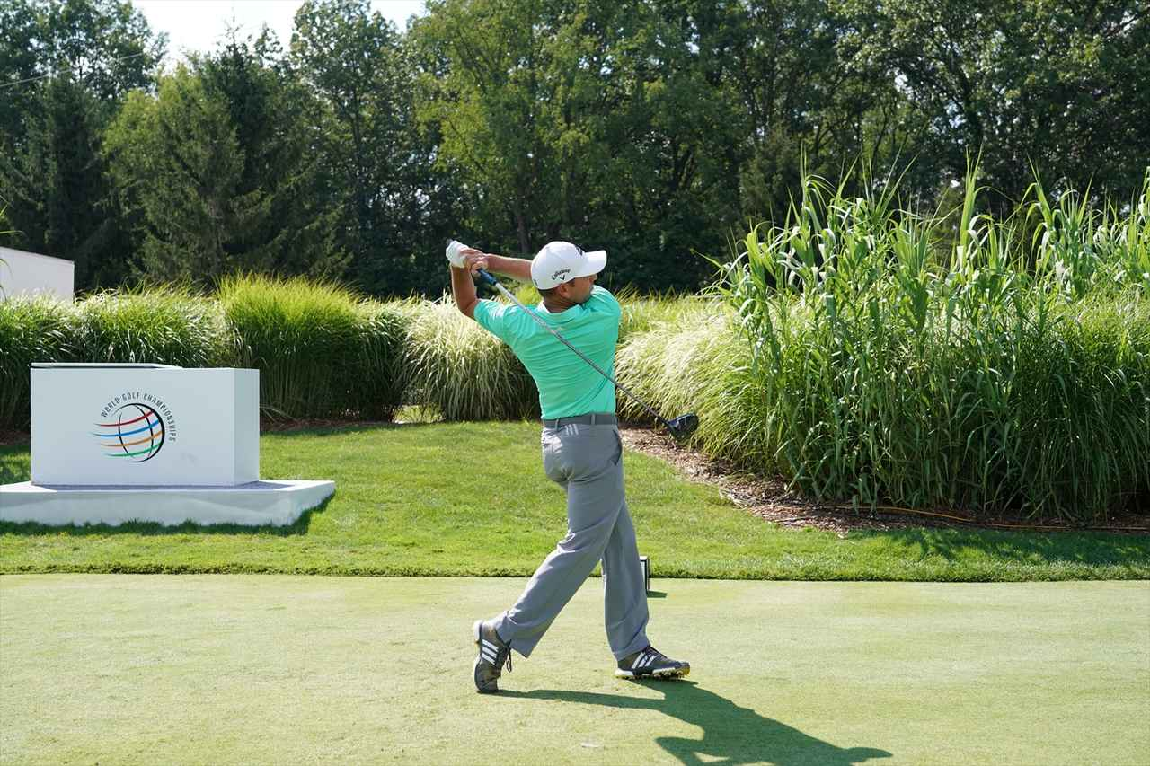 Images : 18番目の画像 - S・ガルシアドライバー連続写真 - みんなのゴルフダイジェスト