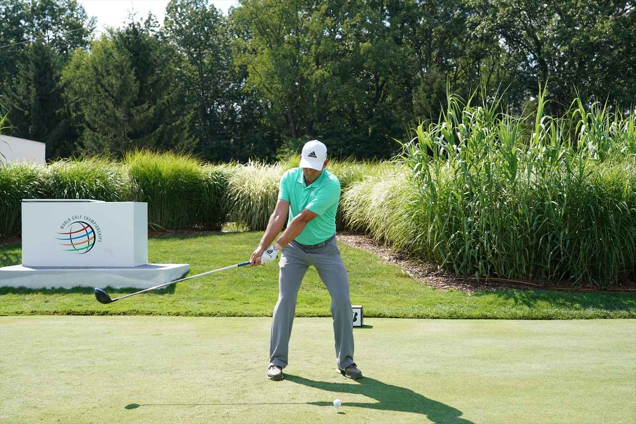 Images : 3番目の画像 - S・ガルシアドライバー連続写真 - みんなのゴルフダイジェスト