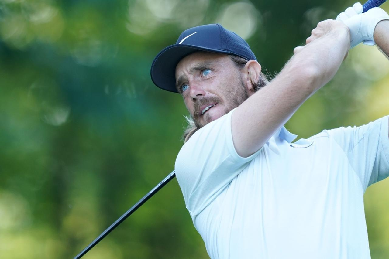 """画像: """"ベスト27歳""""はトミー・フリートウッド(写真は2018年の全米プロゴルフ選手権)"""