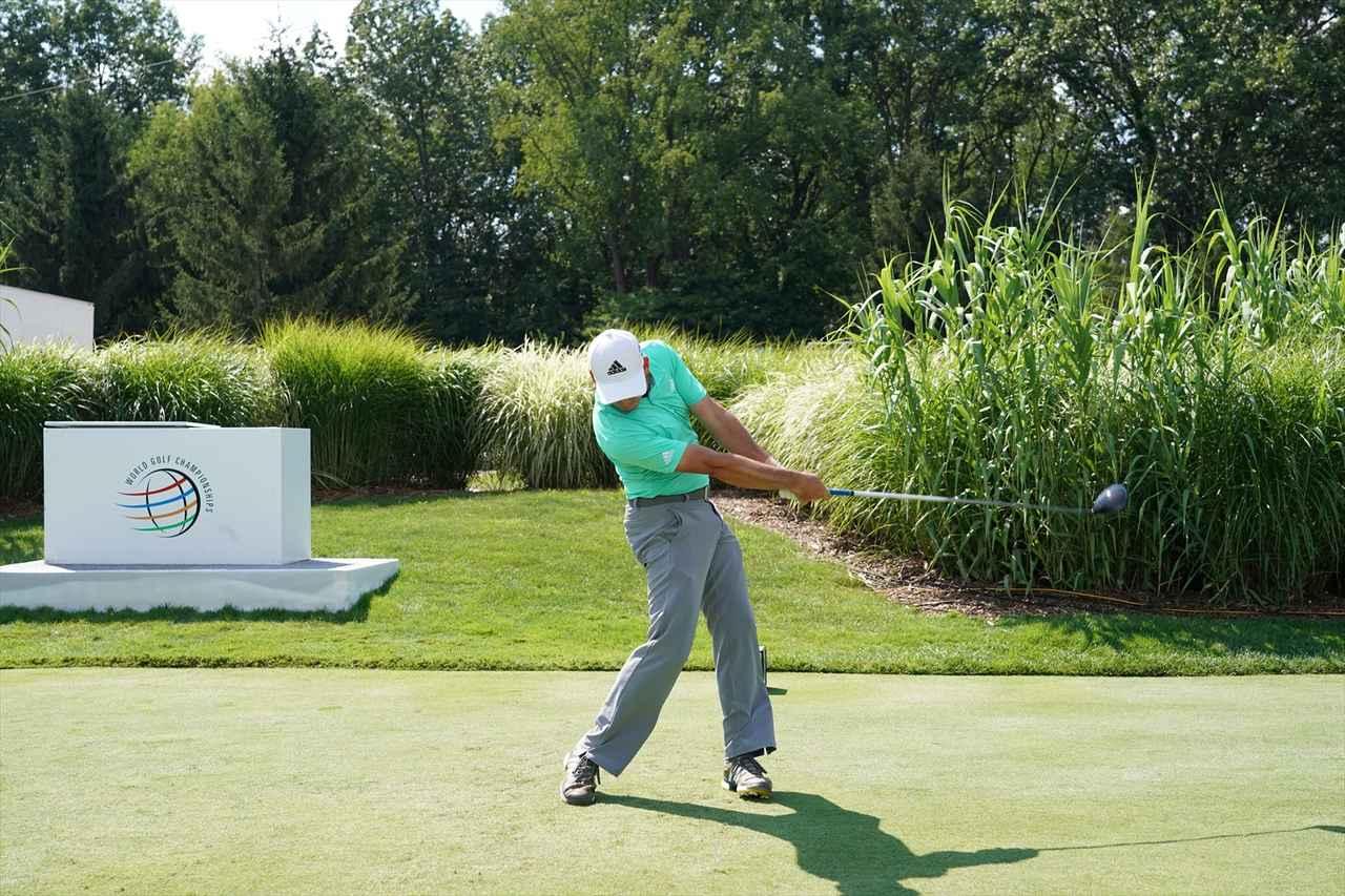 Images : 15番目の画像 - S・ガルシアドライバー連続写真 - みんなのゴルフダイジェスト