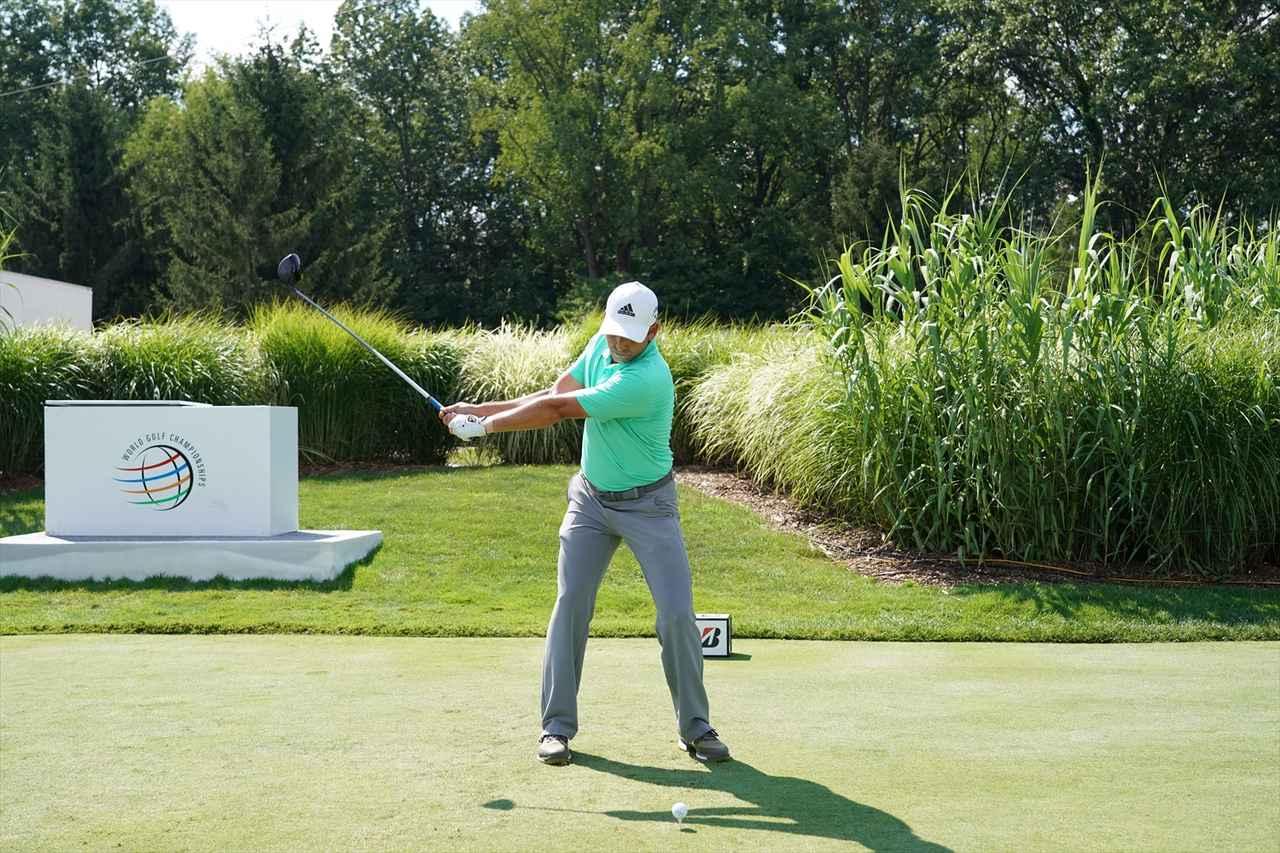 Images : 4番目の画像 - S・ガルシアドライバー連続写真 - みんなのゴルフダイジェスト