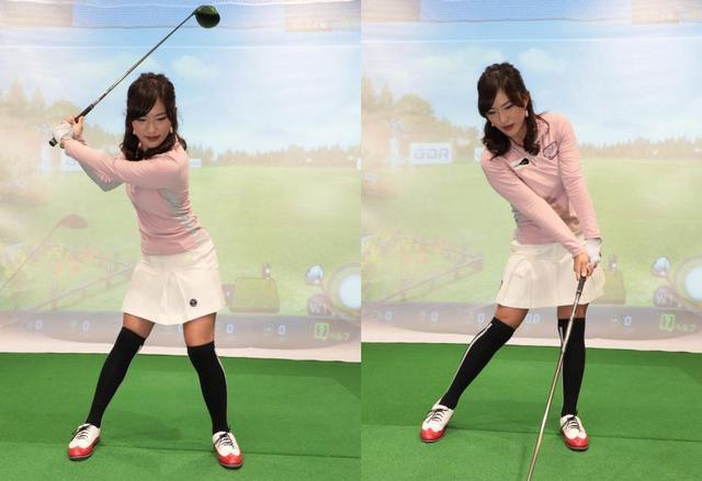 画像: スウィング中、誰しもに左右の体重移動は起こっているが、その感じ方は人それぞれ