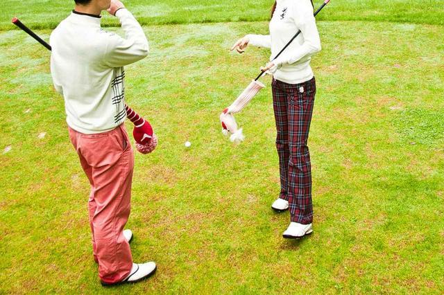 画像: 夫婦ゴルファーが互いをゴルファーとしてリスペクトする姿は憧れます 撮影/加藤晶