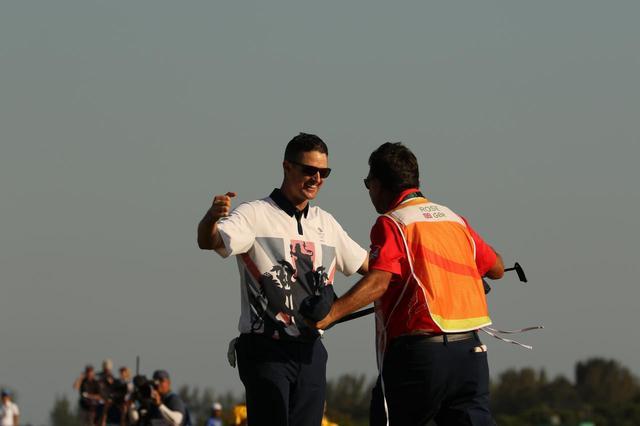 画像: リオ五輪での金メダル獲得、初のメジャー制覇などを支えたキャディに勝利を捧げた(写真はリオ五輪)