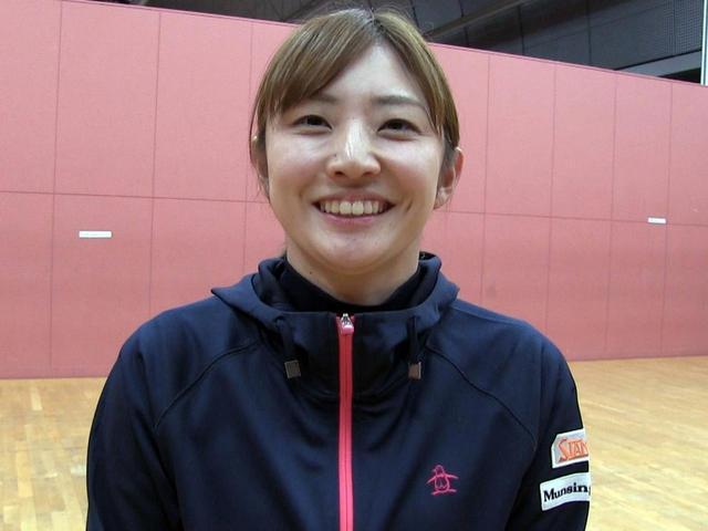 画像: トレーニング終了後、取材に応じてくれた斉藤愛璃は「伸び代が見つかった」と手応えを感じていた