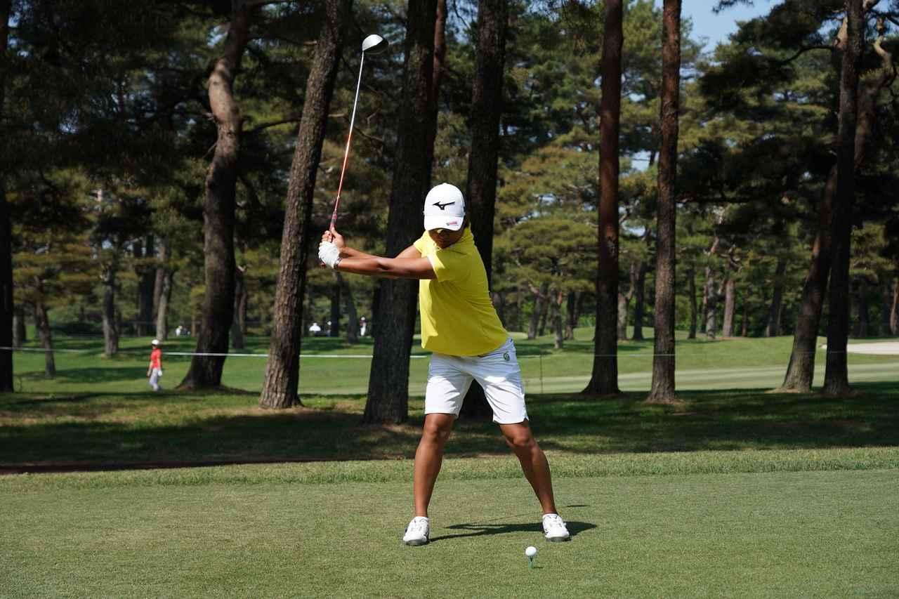 Images : 3番目の画像 - 野澤真央のドライバー連続写真 - みんなのゴルフダイジェスト