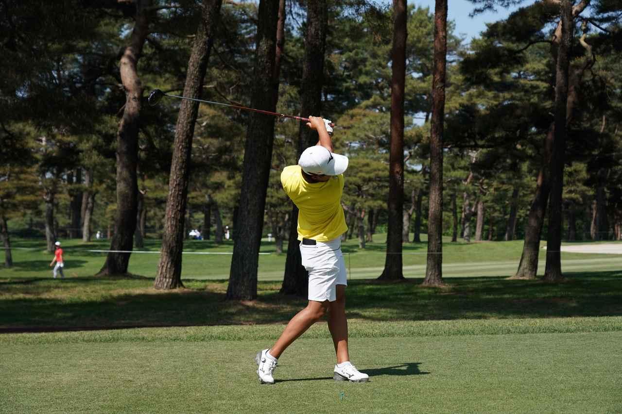 Images : 13番目の画像 - 野澤真央のドライバー連続写真 - みんなのゴルフダイジェスト